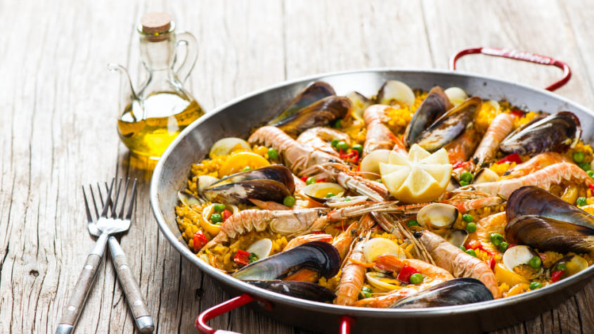 Top 3 most traditional Spanish dishes
