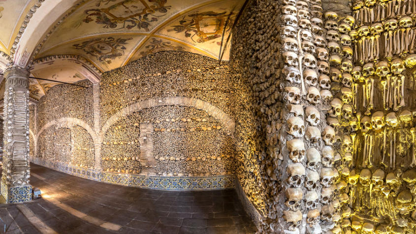 The Mysterious Chapel of Bones in Portugal