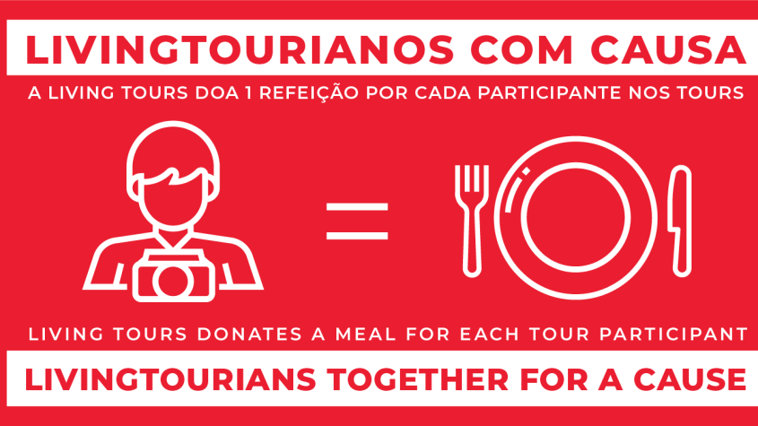 We donate 1 meal for each tour participant