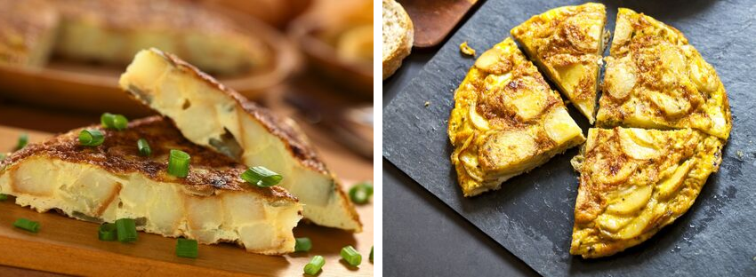 traditional spanish dishes tortilla