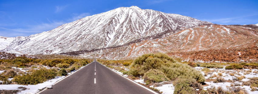 Mount Teide in Winter