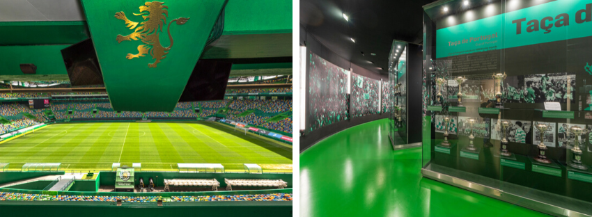 football stadiums portugal sporting