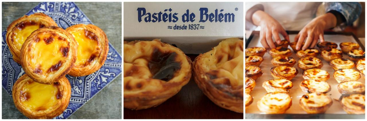 difference between pastel de nata and pastel de belem